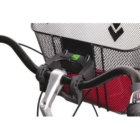 Fixation panier avant mts3 pour E-Bike