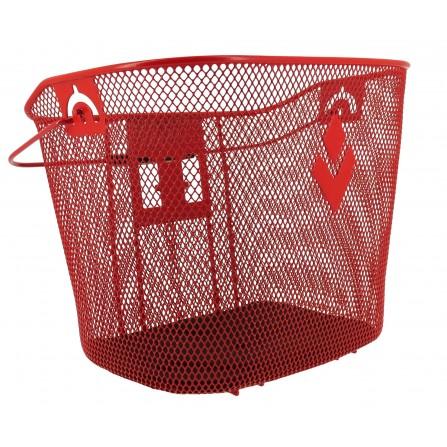 Panier Acier XXL rouge