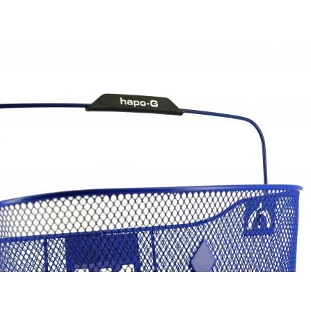 Panier Acier XXL bleu + Fixation MTS3 pour E-Bike