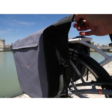 Sacoche arrière à pont 2x23 Litres waterproof