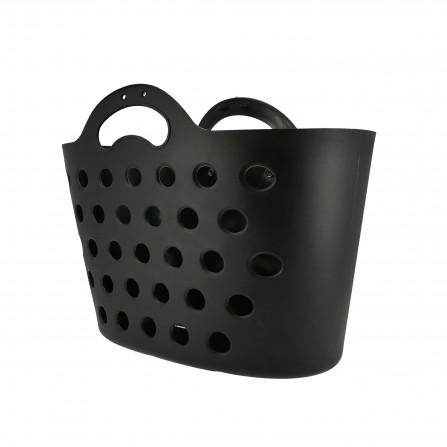 Panier Trendy One fixation porte-bagages noir