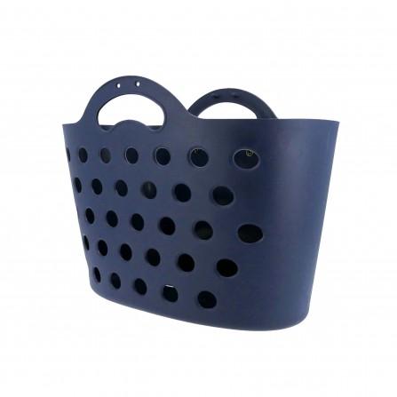 Panier Trendy One fixation porte-bagages bleu foncé